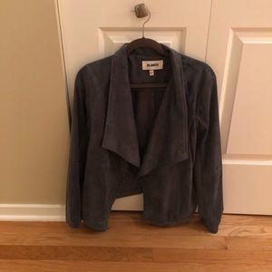 BB Dakota (NEVER WORN!!) grey suede jacket/blazer.